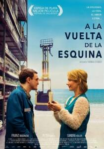 "Poster for the movie ""A la vuelta de la esquina"""