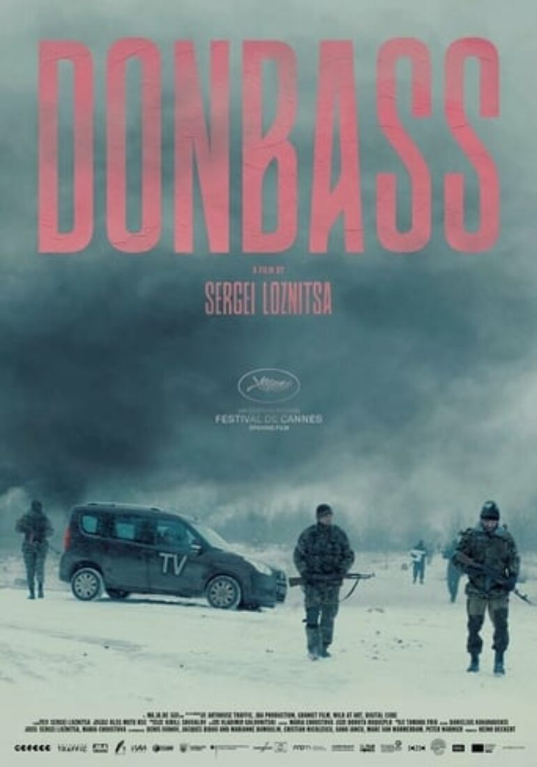 "Poster for the movie ""Donbass"""