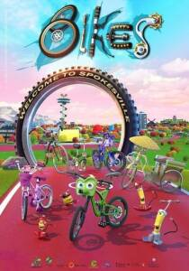 "Poster for the movie ""Bikes The Movie"""
