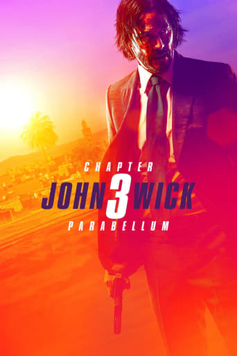 "Poster for the movie ""John Wick 3: Parabellum"""