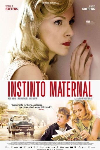 "Poster for the movie ""Instinto Maternal"""