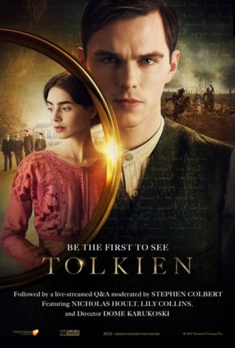 "Poster for the movie ""Tolkien"""
