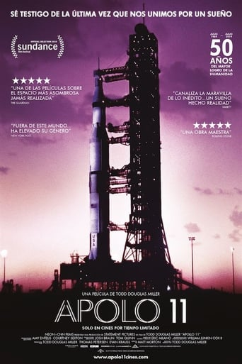 "Poster for the movie ""Apollo 11"""