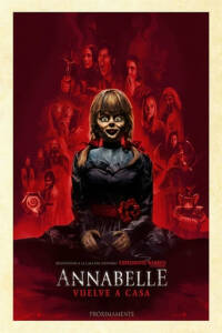 "Poster for the movie ""Annabelle vuelve a casa"""