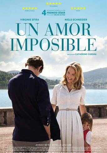 "Poster for the movie ""Un amor imposible"""
