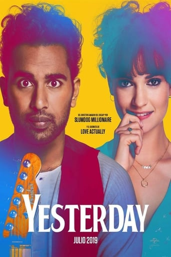"""Poster for the movie """"Yesterday"""""""