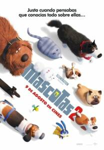"Poster for the movie ""Mascotas 2"""