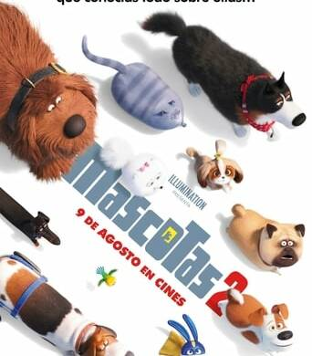 """Poster for the movie """"Mascotas 2"""""""