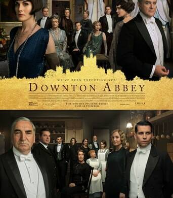"Poster for the movie ""Downton Abbey"""