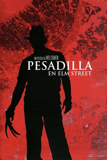 "Poster for the movie ""Pesadilla en Elm Street"""