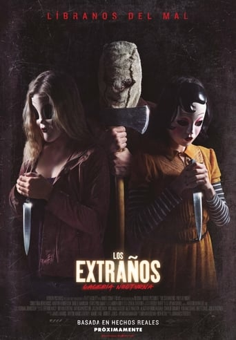 "Poster for the movie ""Los Extraños: Cacería Nocturna"""