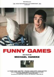 "Poster for the movie ""Funny Games"""