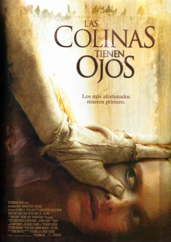 "Poster for the movie ""Las colinas tienen ojos"""