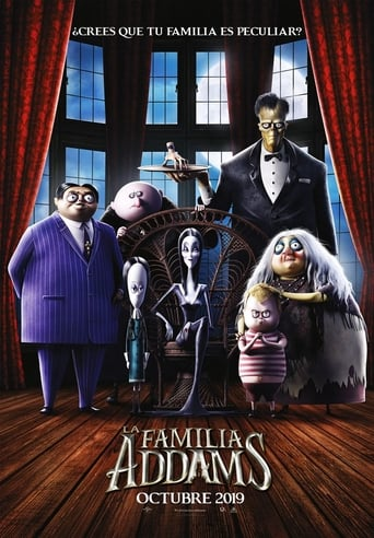 "Poster for the movie ""La familia Addams"""