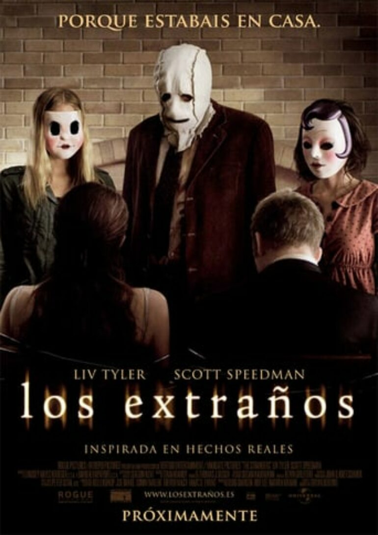 "Poster for the movie ""Los extraños"""