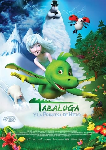 "Poster for the movie ""Tabaluga y la Princesa de Hielo"""