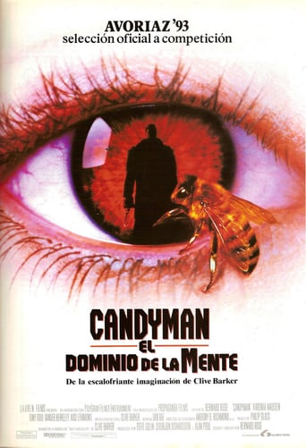 "Poster for the movie ""Candyman: El dominio de la mente"""