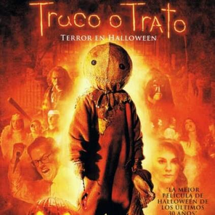 "Poster for the movie ""Truco o trato: Terror en Halloween"""
