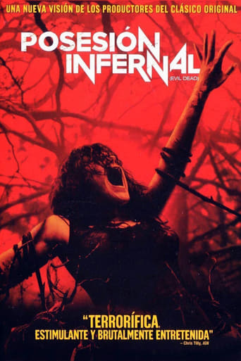 "Poster for the movie ""Posesión infernal (Evil Dead)"""