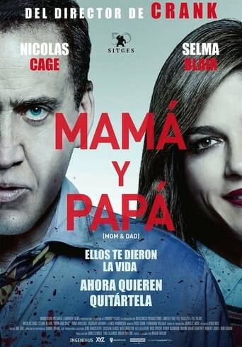 """Poster for the movie """"Mamá y Papá"""""""