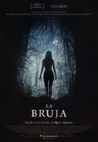 "Poster for the movie ""La bruja"""