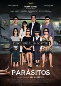 "Poster for the movie ""Parásitos"""