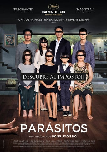 """Poster for the movie """"Parásitos"""""""