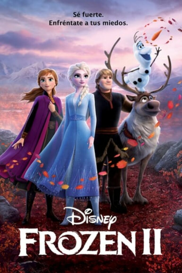 """Poster for the movie """"Frozen 2"""""""