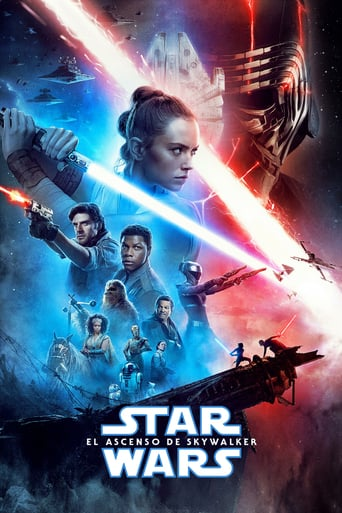 "Poster for the movie ""Star Wars: El ascenso de Skywalker"""