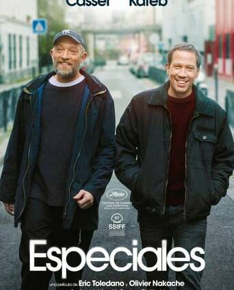 """Poster for the movie """"Especiales"""""""