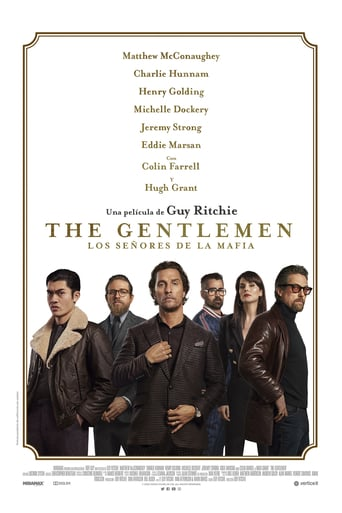 "Poster for the movie ""The Gentlemen: Los señores de la mafia"""