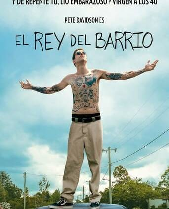 "Poster for the movie ""El rey del barrio"""