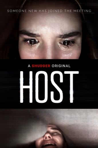 "Poster for the movie ""Host"""