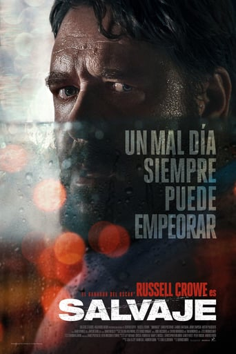 "Poster for the movie ""Salvaje"""