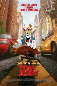 """Poster for the movie """"Tom y Jerry"""""""