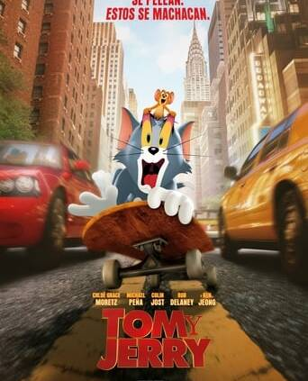 "Poster for the movie ""Tom y Jerry"""