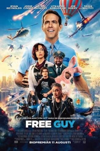 """Poster for the movie """"Free Guy"""""""