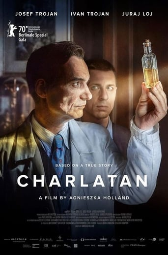 """Poster for the movie """"Charlatán"""""""